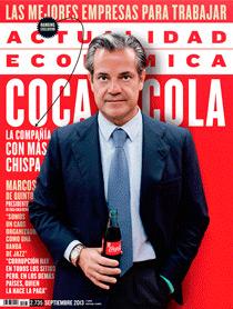 Portada del número de septiembre de la revista Actualidad Económica