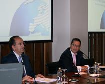 Juan Cardona, Corporate Reputation Forum director and Jesús de la Morena, Garrigues Medio Ambiente partner