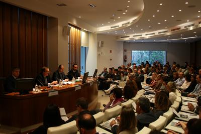 Numerosos representantes de empresas completaron el aforo del Auditorio Garrigues interesados en las propuestas de la jornada