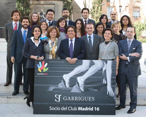 El equipo de Garrigues, capitaneado por Miguel Gordillo y Félix Plaza, encargado de la revisión de los aspectos legales y fiscales del informe.