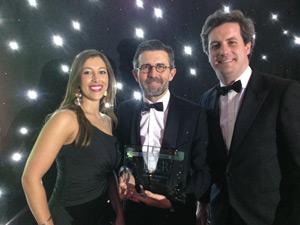 Alía de Pedro, Ignacio Corbera and Javier Álvarez-Cienfuegos picked up the IFLR award