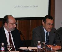 Antonio Fernández, responsable del área de Reestructuraciones e Insolvencias de Garrigues, se dirige al público durante la jornada.