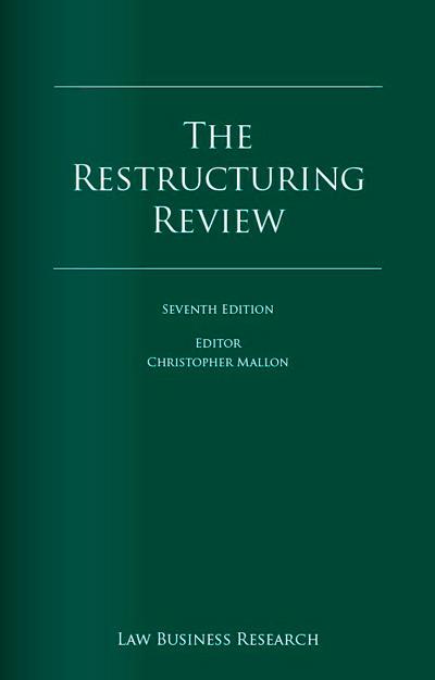 Portada de la publicación 'The Restructuring Review' 2014