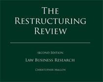 """Portada de la segunda edición del libro """"The Restructuring Review"""""""