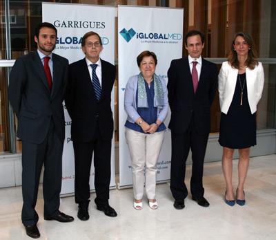 Miguel Fernández, Ricardo Gómez, Pilar Farjas, José Fernández-Rañada y Dulce Miranda