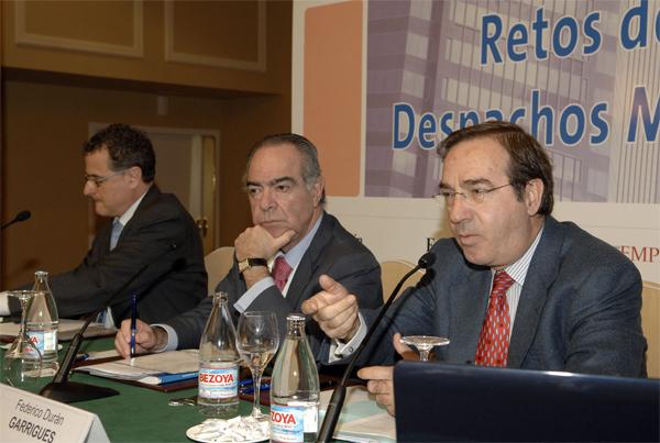 Federico Durán durante su intervención.               Foto: Rafa Martín / Expansión.