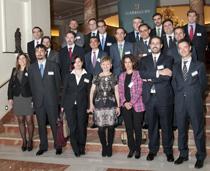 Foto de grupo de los nuevos socios nombrados por la Junta de Garrigues