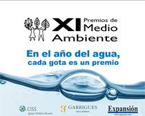 Los premios han querido sumarse a la iniciativa de la Expo de Zaragoza y realizan un homenaje al agua como principal recurso de vida.