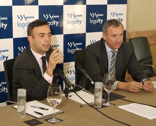 José María Anguiano and Ginés Alarcón, Logalty's CEO and President