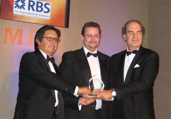 Miguel Gordillo y José María Alonso recogen el premio 'Best Managed Firm' de Managing Partners' Forum