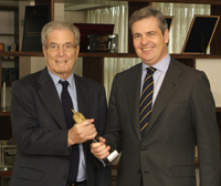 Antonio Garrigues, president, and Jaime Fuster, director of the Warsaw office