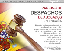 El diario económico Expansión publica anualmente el ranking español de referencia de despachos de abogados españoles.