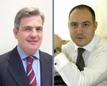 Jaime Fúster y Mihai Mares, los dos socios que van a dirigir la oficina de Bucarest.