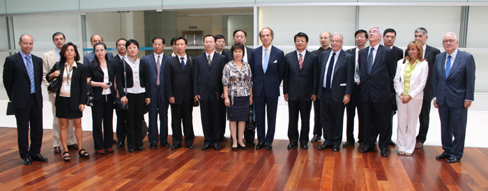 Antonio Garrigues and Jose María Alonso with the All China Lawyers Association