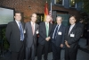 Miguel Ángel Moratinos together with Antonio Garrigues, José María Alonso and the NY partners during the event.
